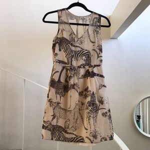 Madewell safari dress
